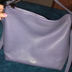 Kate Spade blue/gray purse